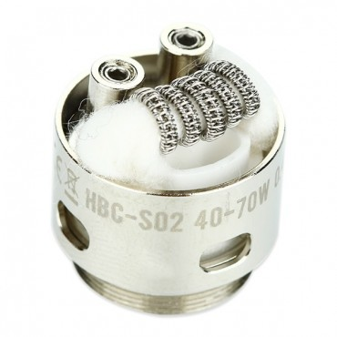 HBC SO2 STAGGERED FUSED A1/NI80 0,4